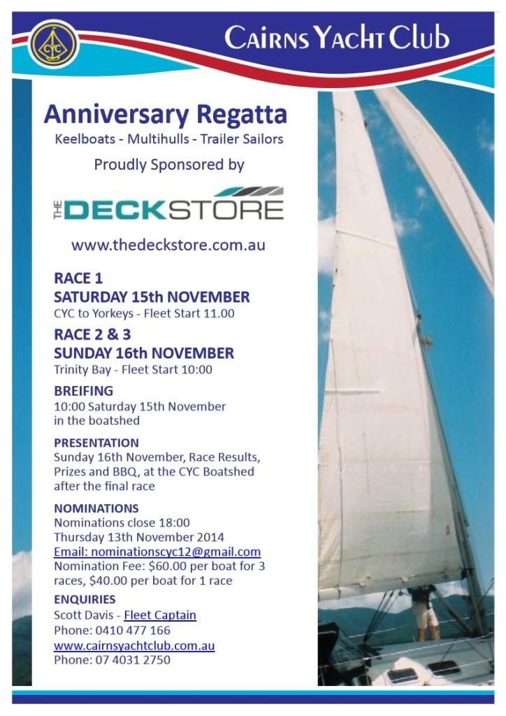 anniversary regatta