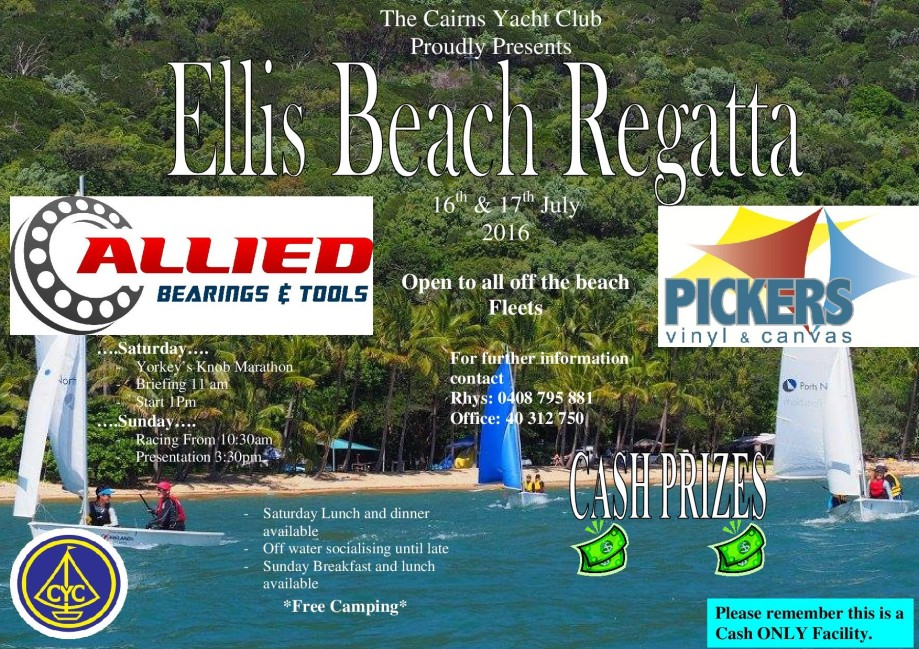 Ellis Beach - Ellis Beach Regatta july 2016