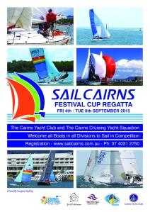 SAIL CAIRNS Poster 2015 A4 PRINT