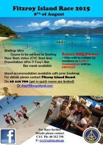 Fitrzroy Island Race - august 2015