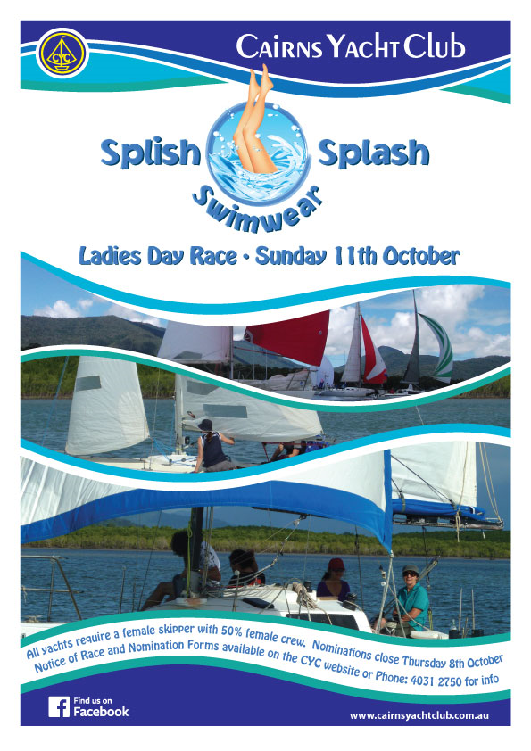 Ladies Race Day - 11Oct15 Flyer