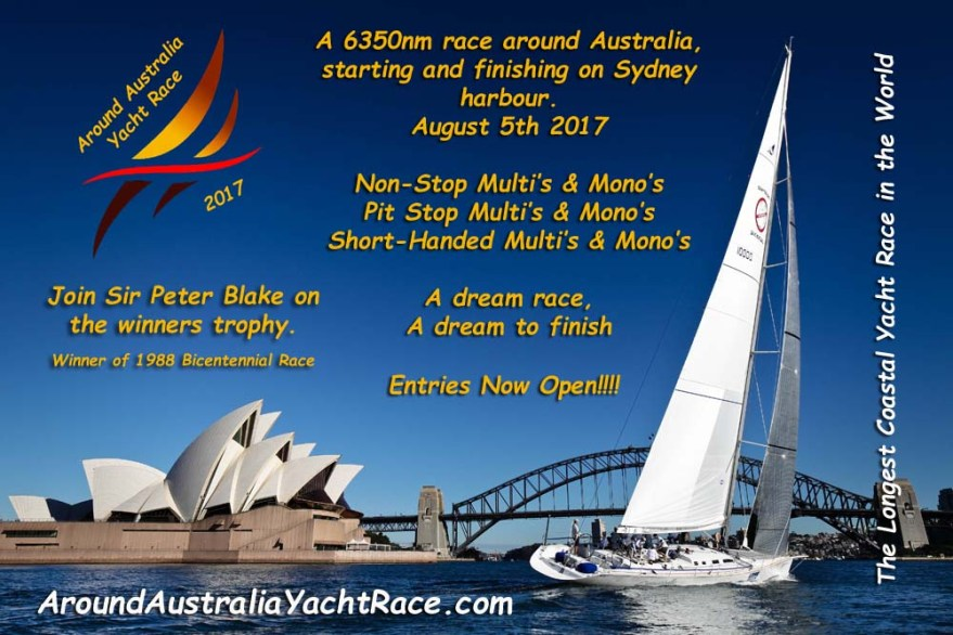 SOS Ocean Racing team train aboard famous maxi yacht Brindabella on Sydney Harbour prior to their record attempt to become the fastest monohull yacht to Circumnavigate Australia. Pictures by Craig Greenhill/SALTWATERIMAGES - #IMAGE USE MUST CREDIT SALTWATERIMAGES#