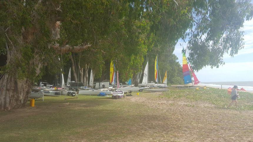Ellis Beach Regatta crew 2017